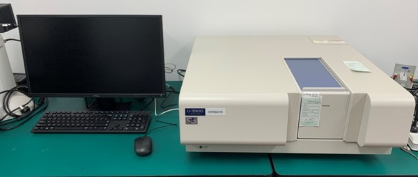 Hitachi UV-vis spectrophotometer